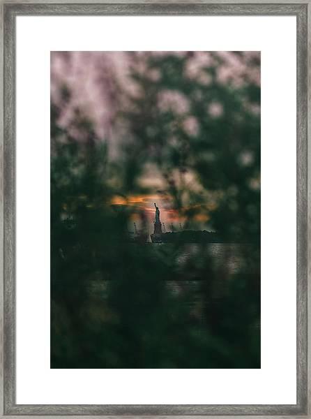Torchlight Framed Print