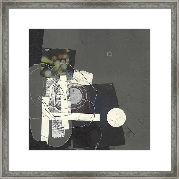 Torn Beauty No. 1 Framed Print