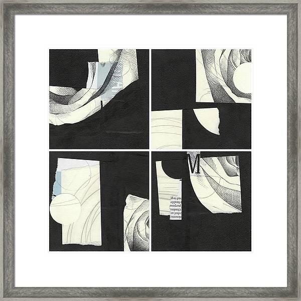 Torn Beauty No. 4 Framed Print