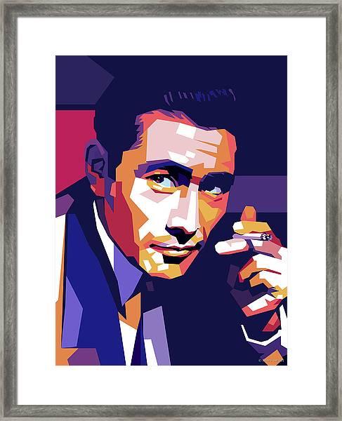 Toshiro Mifune Framed Print