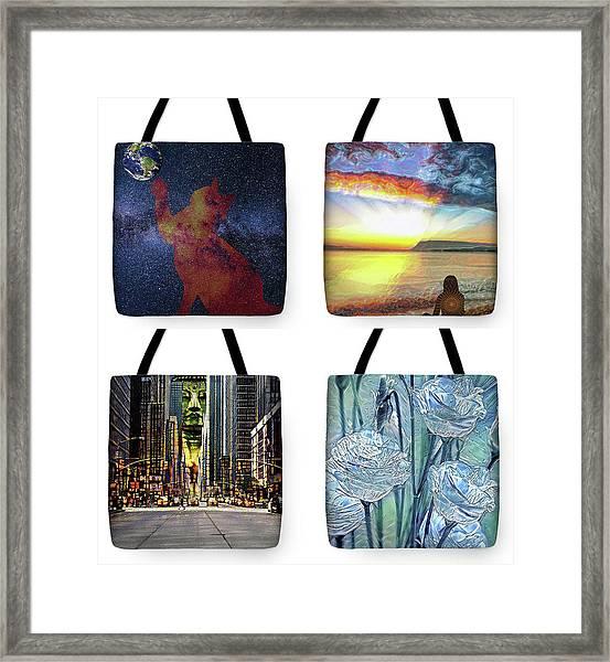 Tote Bags Samples Framed Print