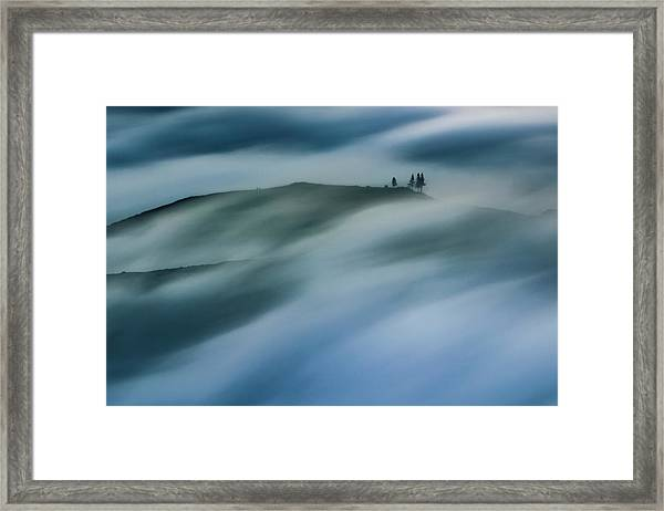 Touch Of Wind Framed Print