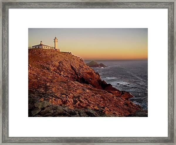 Touriñan Cape Framed Print