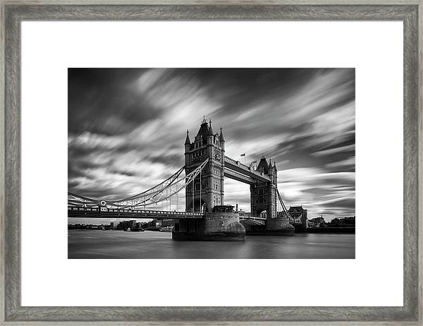 Tower Bridge, River Thames, London Framed Print