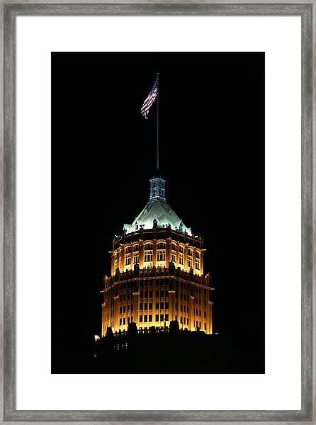 Tower Life Building Framed Print