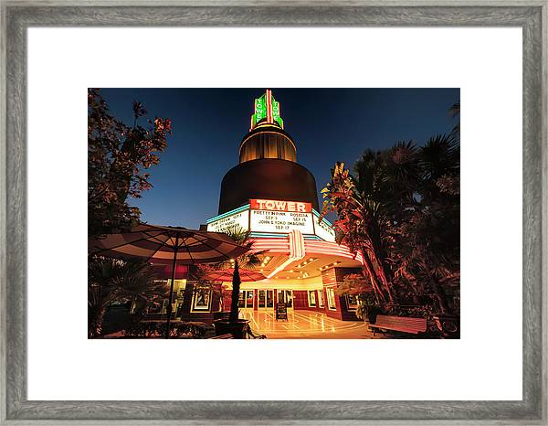 Tower Theater- Framed Print