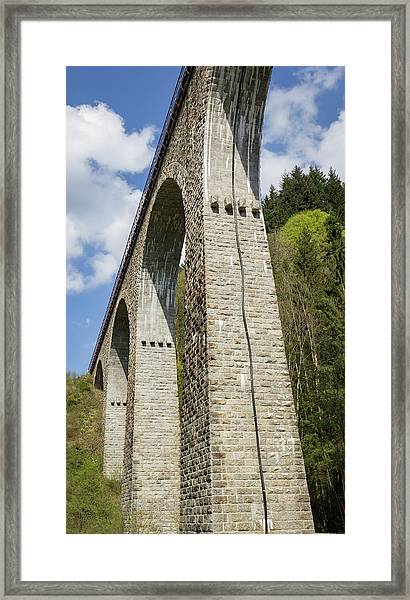 Towering Arches Framed Print