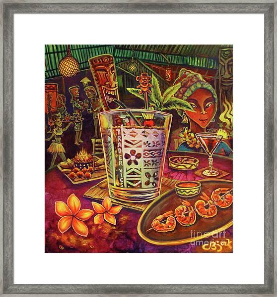 Trader Vic Mai Tai Framed Print