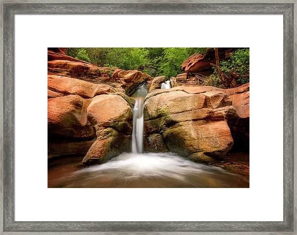 Tranquil Falls Framed Print
