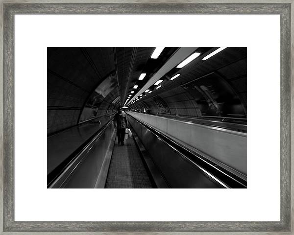 Travelator  Framed Print