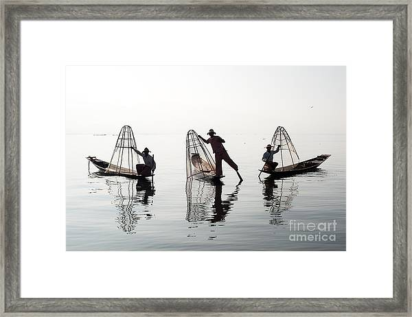 Traveling To Myanmar, Outdoor Framed Print