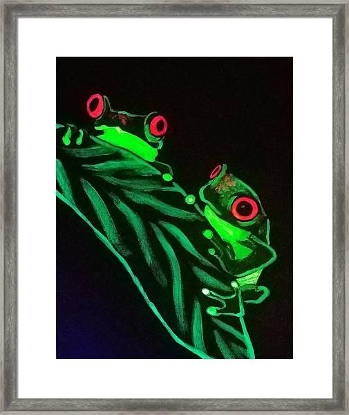 Tree Frogs  Framed Print