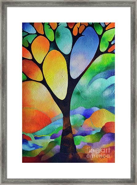 Tree Of Joy Framed Print
