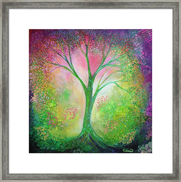 Tree Of Tranquility Framed Print