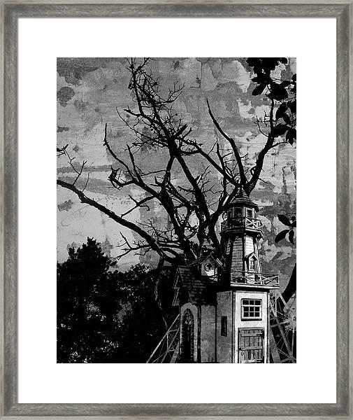 Treehouse I Framed Print