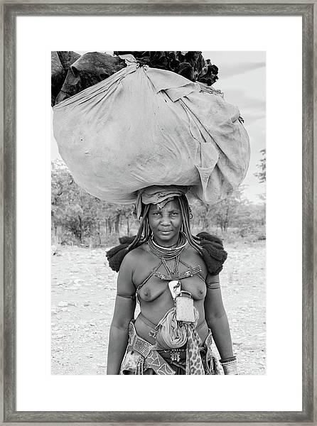 Tribes Portrait Framed Print