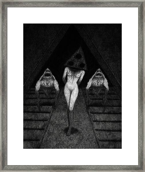 Trigia And The Dethiligox - Artwork Framed Print