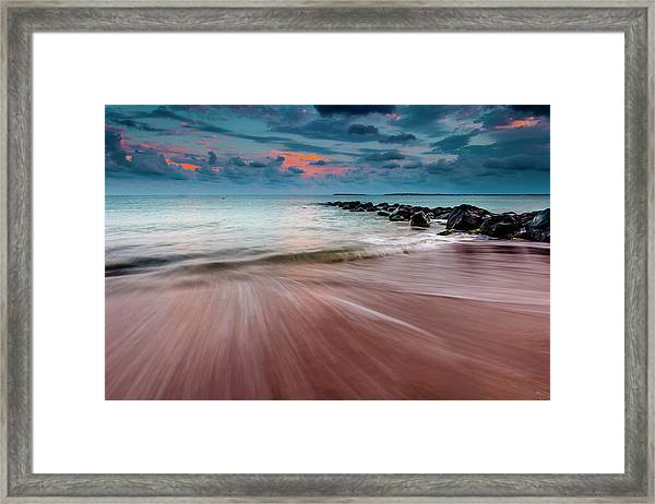 Tropic Sky Framed Print