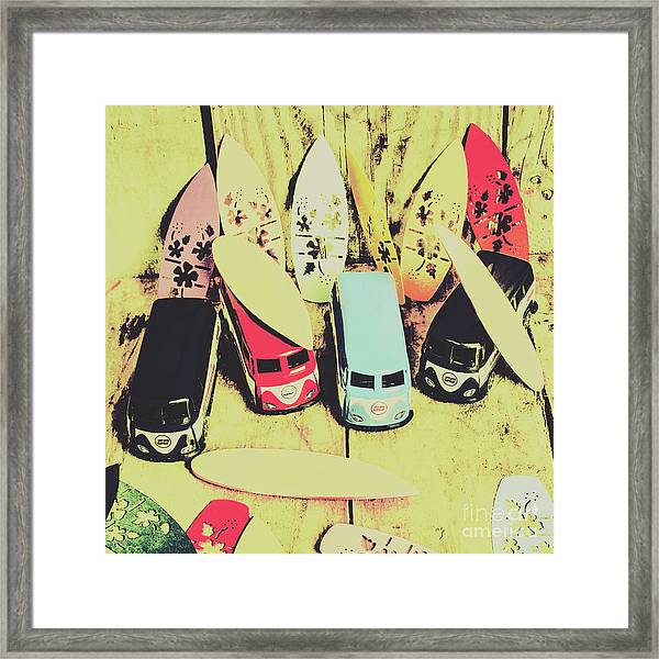 Tropical Trippers 1960 Framed Print