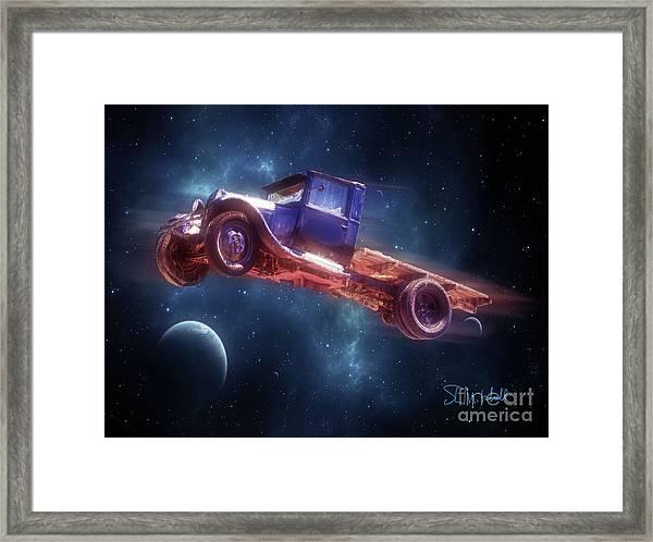 Truck Trek Framed Print
