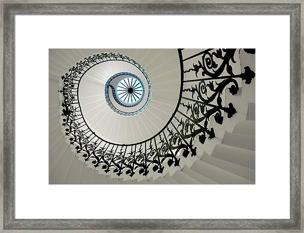 Tulip Stairs Framed Print
