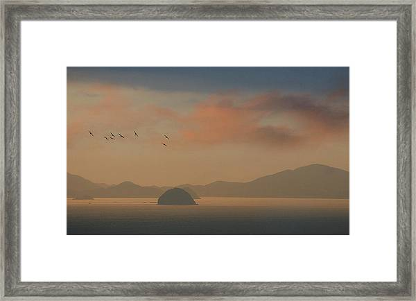 Twilight Calm Framed Print