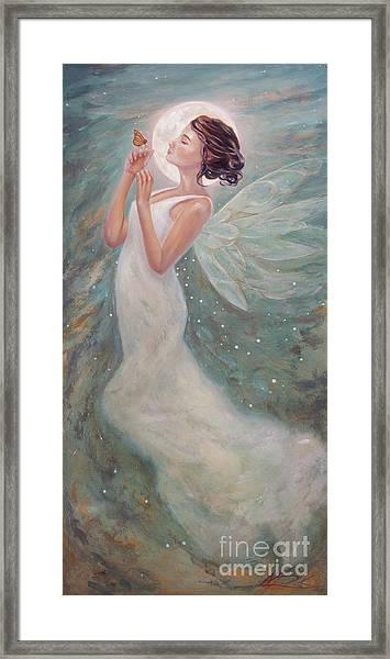 Twilight Summer Dream Framed Print