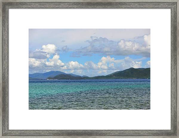 Two Nations Framed Print