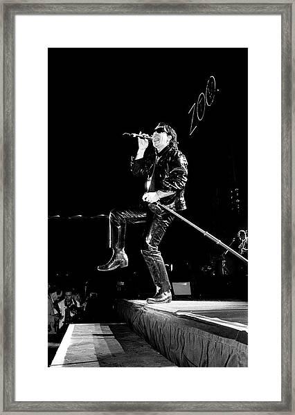 U2 Zoo Tv Tour Portugal 1993 Framed Print
