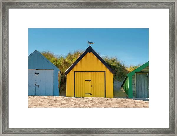 Uk, Wales, Llyn Peninsula, Abersoch Framed Print