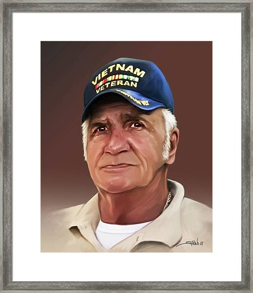 Uncle Poppy By Spano Framed Print