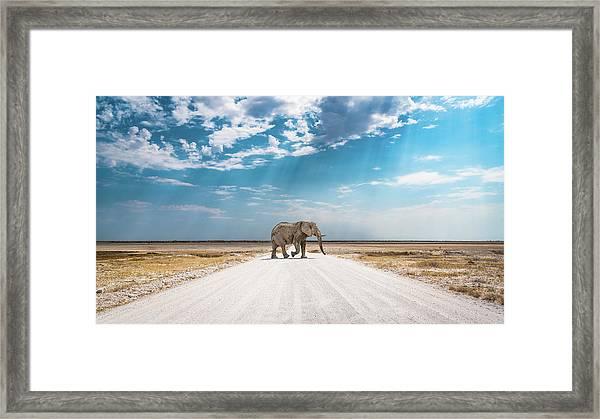 Under An African Sky Framed Print