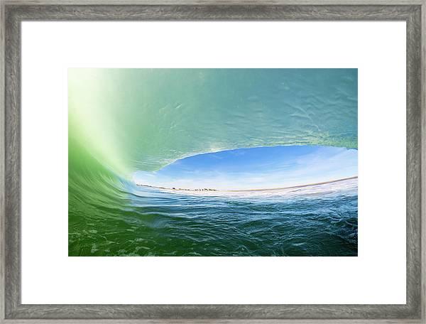Under The Hood Framed Print