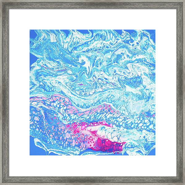 Under The Sea In Hawaii Framed Print
