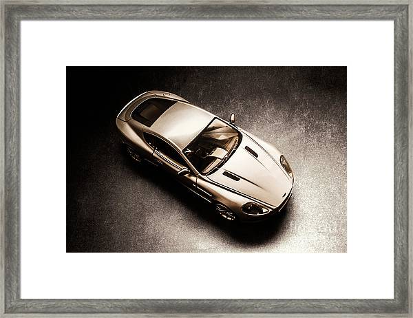 Underground Racer Framed Print