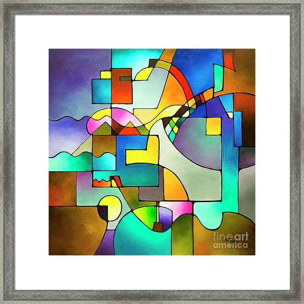 Unified Theory Framed Print