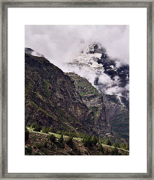 Framed Print featuring the photograph Up In The Clouds by Whitney Goodey