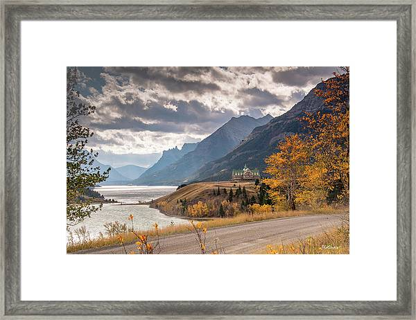 Upper Waterton Lakes Framed Print