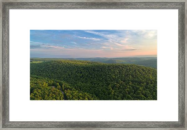 Upstate New York  Framed Print