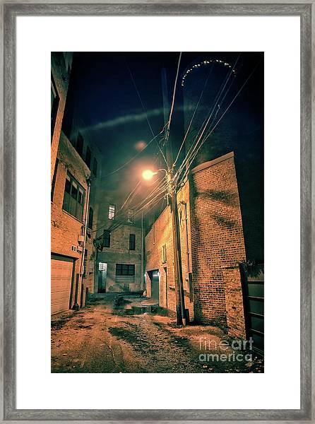 Urban Castle Framed Print