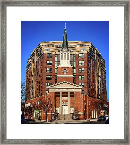 Urban Religion Framed Print