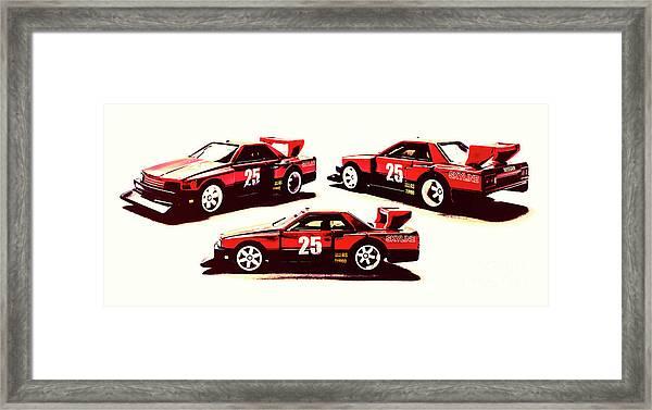 Urban Street Racer Framed Print