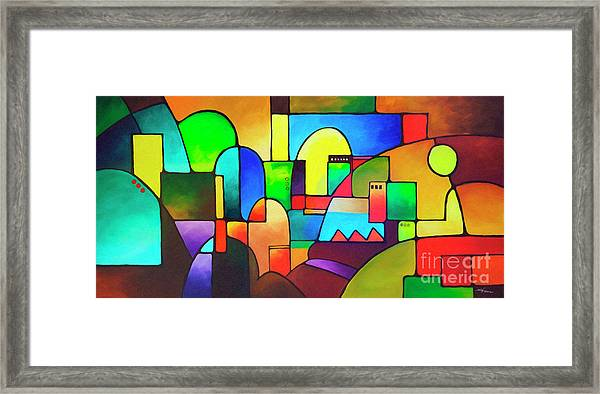 Urbanity 2 Framed Print