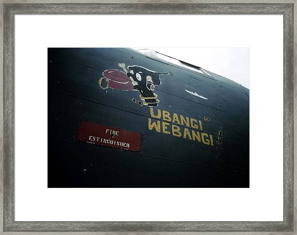 U.s. Army Air Force Base In Ghana Framed Print by Michael Ochs Archives