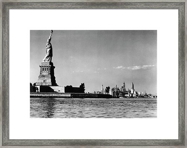 Us States Framed Print