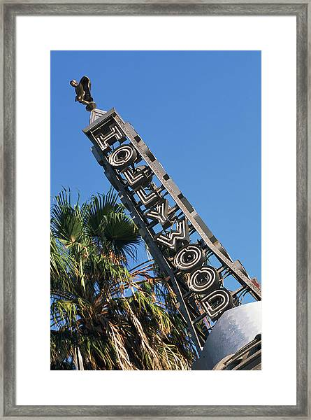 Usa, California, Los Angeles, Hollywood Framed Print