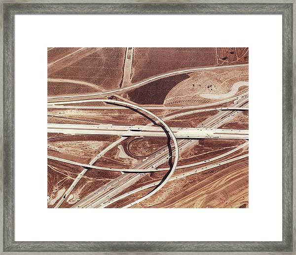 Usa, California, San Bernardino Framed Print by Nivek Neslo
