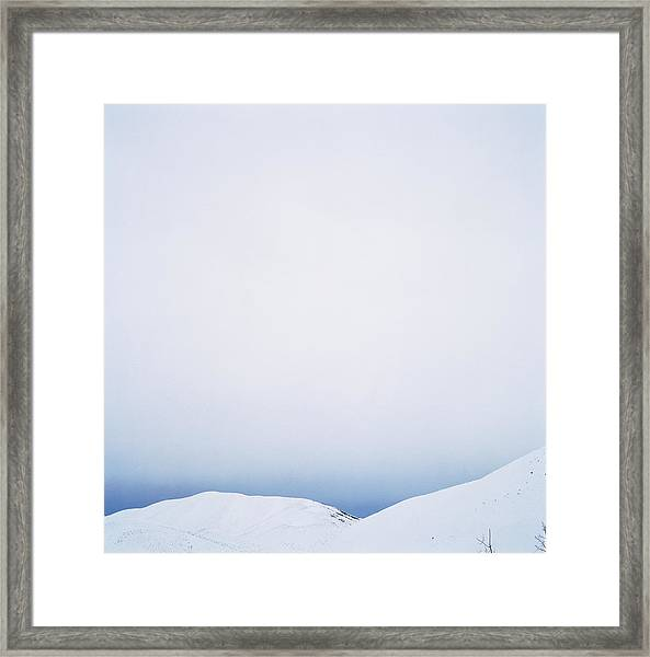 Usa, Idaho, Rocky Mountains, Sun Framed Print by Ryan Mcvay