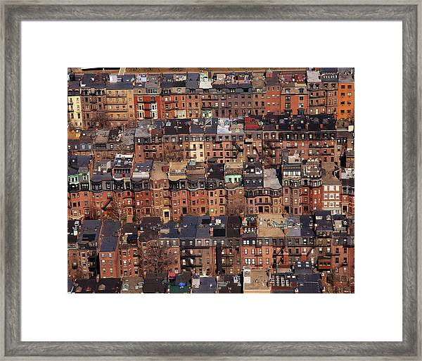 Usa, Massachusetts, Boston Framed Print by Connie Coleman