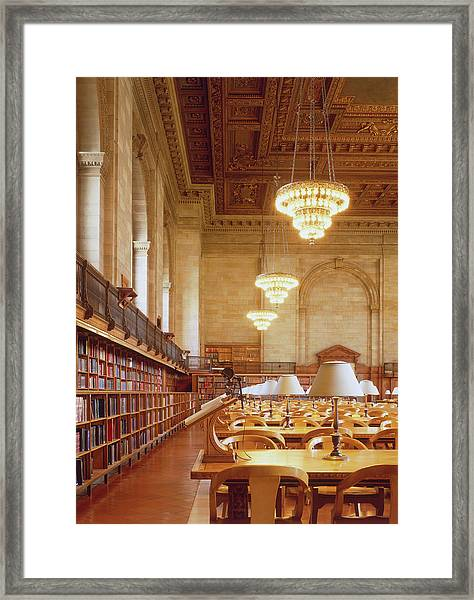 Usa, New York City, Manhattan, New York Framed Print